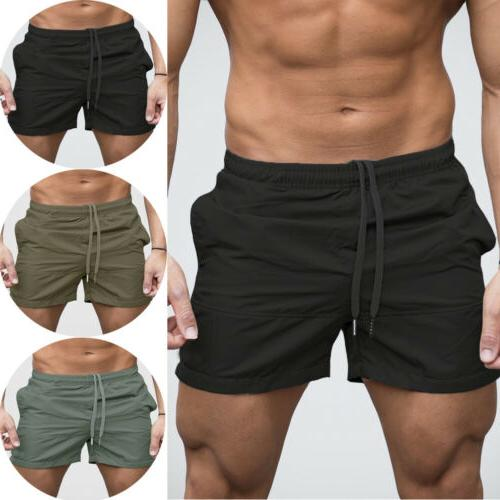 Mens Workout Shorts Sports Running Jogging Active Gym Exerci