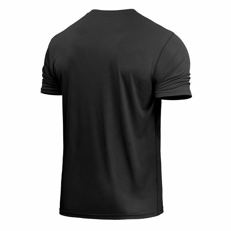Mens T Dry Tee For Fitness Exercise