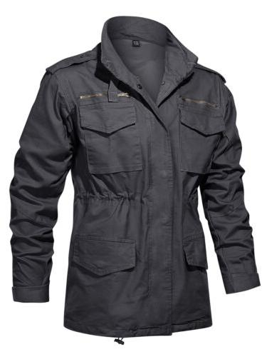 Military Field Jacket Men's Coat Windbreaker Hunting