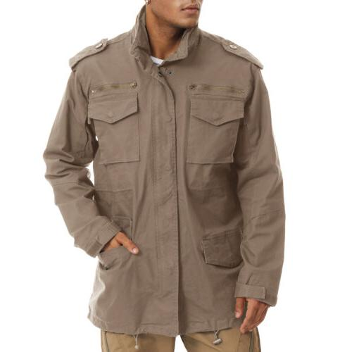 Military 65 Men's Army Windbreaker Hunting