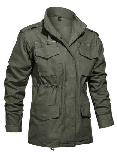 Military 65 Field Jacket Men's Army Tactical Windbreaker Hunting Clothes