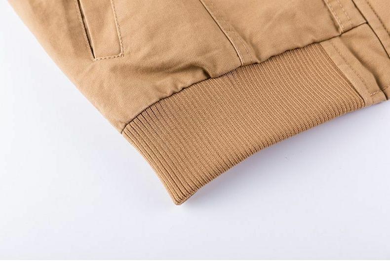 Military Jacket Coat Casual Turn-down Collar