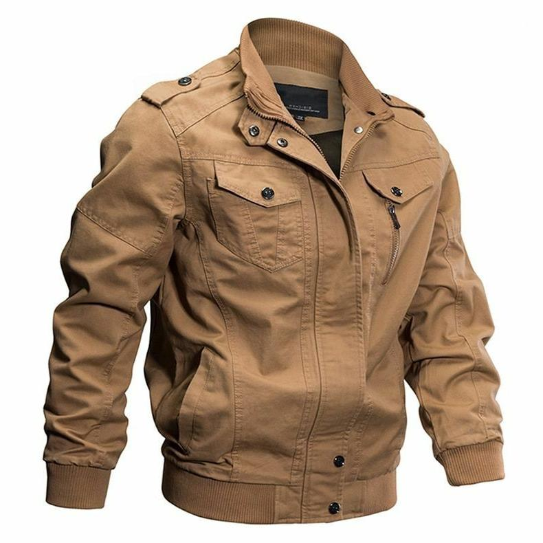 Military Jacket Winter Collar Clothes New