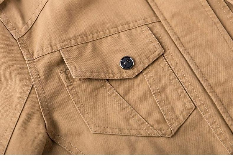 Military Coat Casual Collar