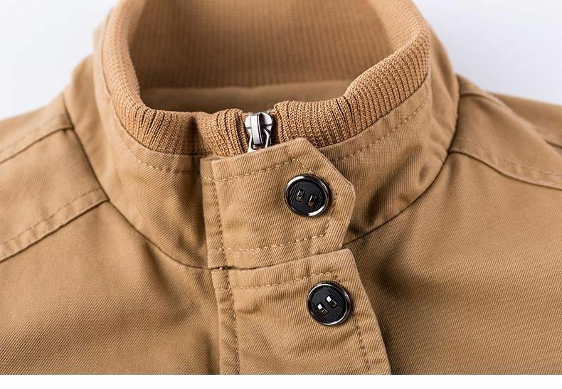 Military Coat Outerwear Collar Clothes New