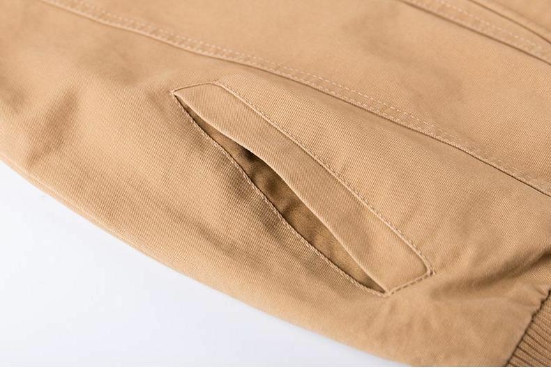 Coat Casual Turn-down Collar