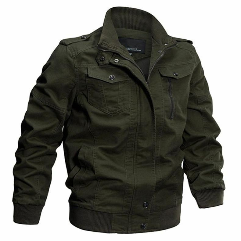 military jacket winter cotton coat casual outerwear