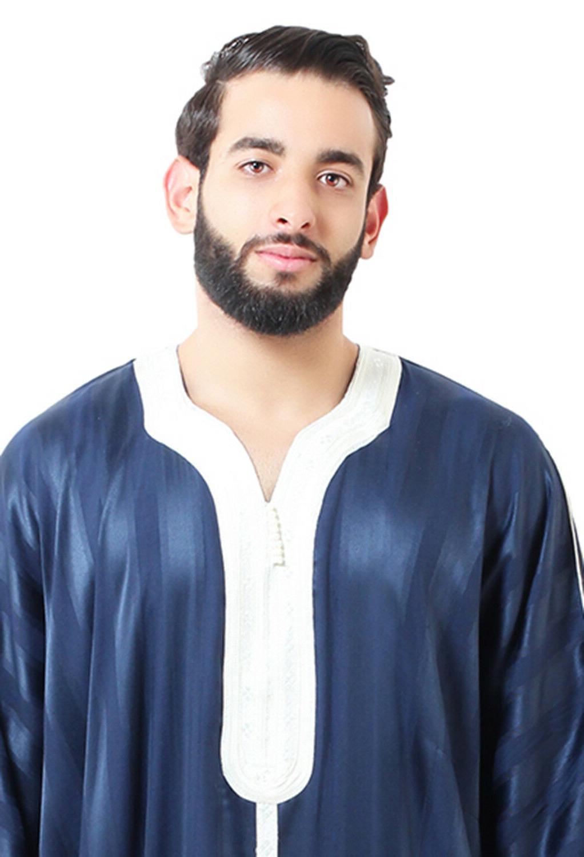 Moroccan Men Caftan Thobe