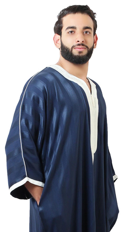 Moroccan Men Thobe Abaya Dishdasha
