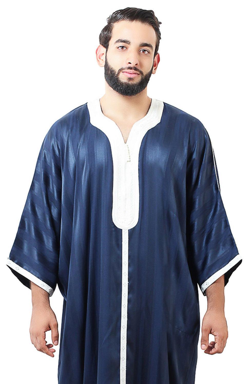 Moroccan Men Caftan Thobe Abaya