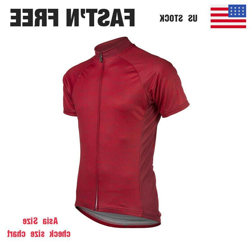 mtb road men cycling jerseys short sleeve