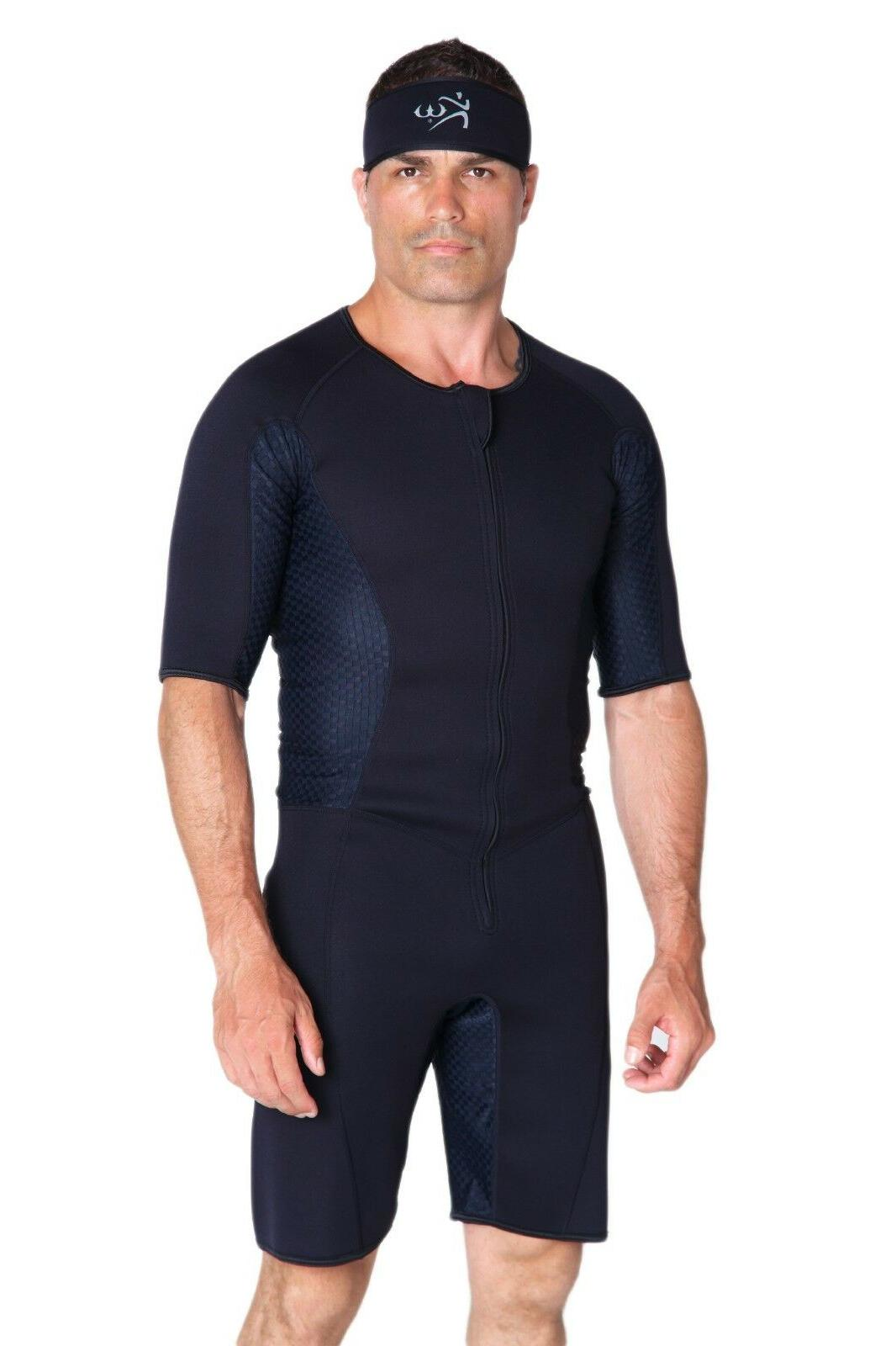 Kutting Weight Loss One-piece Men's Suit Apparel