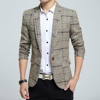 New Arrival Jacket Blazer Fashion Slim Male Suits Ca