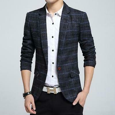 New Jacket Blazer Male