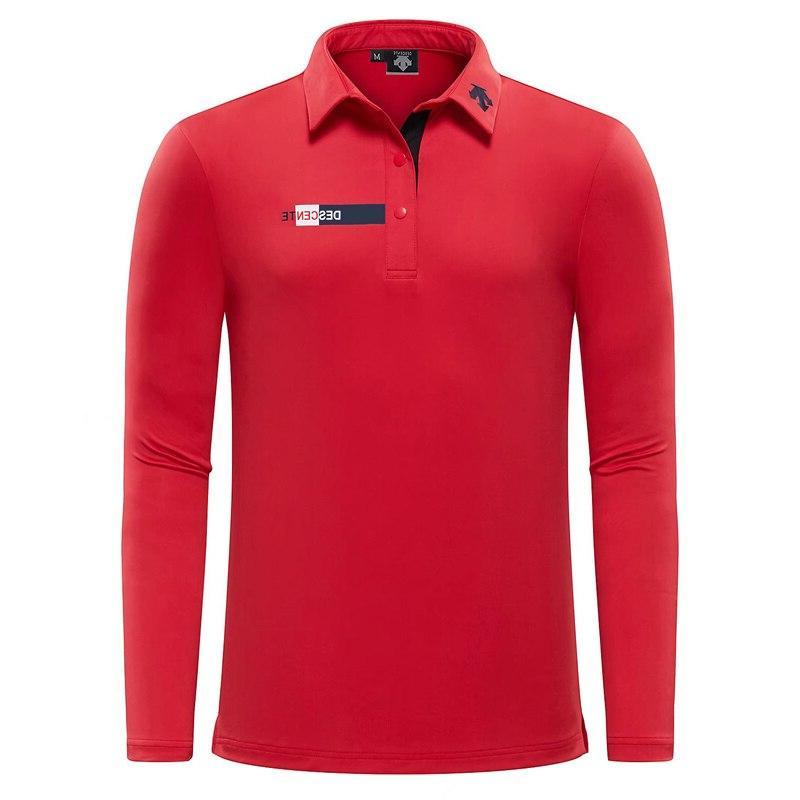 New Swirling <font><b>Clothing</b></font> <font><b>Golf</b></font> Polo Sleeve Shirt Breathable <font><b>Golf</b></font> Color Free Shipp
