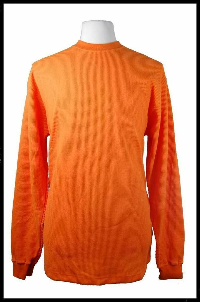 New Long Sleeve Waffle Winter Warm Thermal T