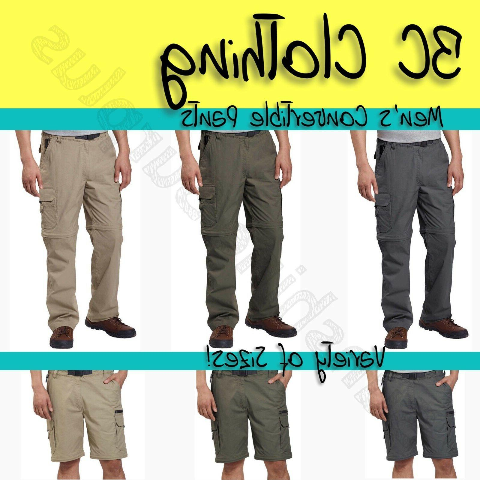 new men s convertible stretch cargo hiking