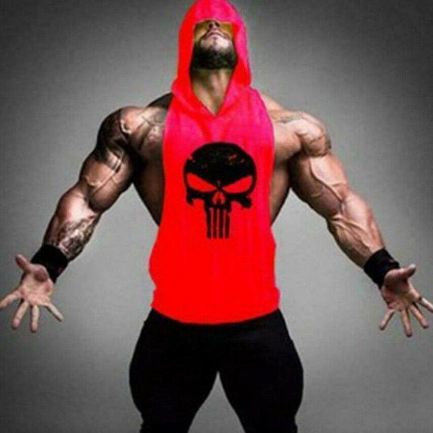 New Men's Gym Clothing Stringer Tank Top