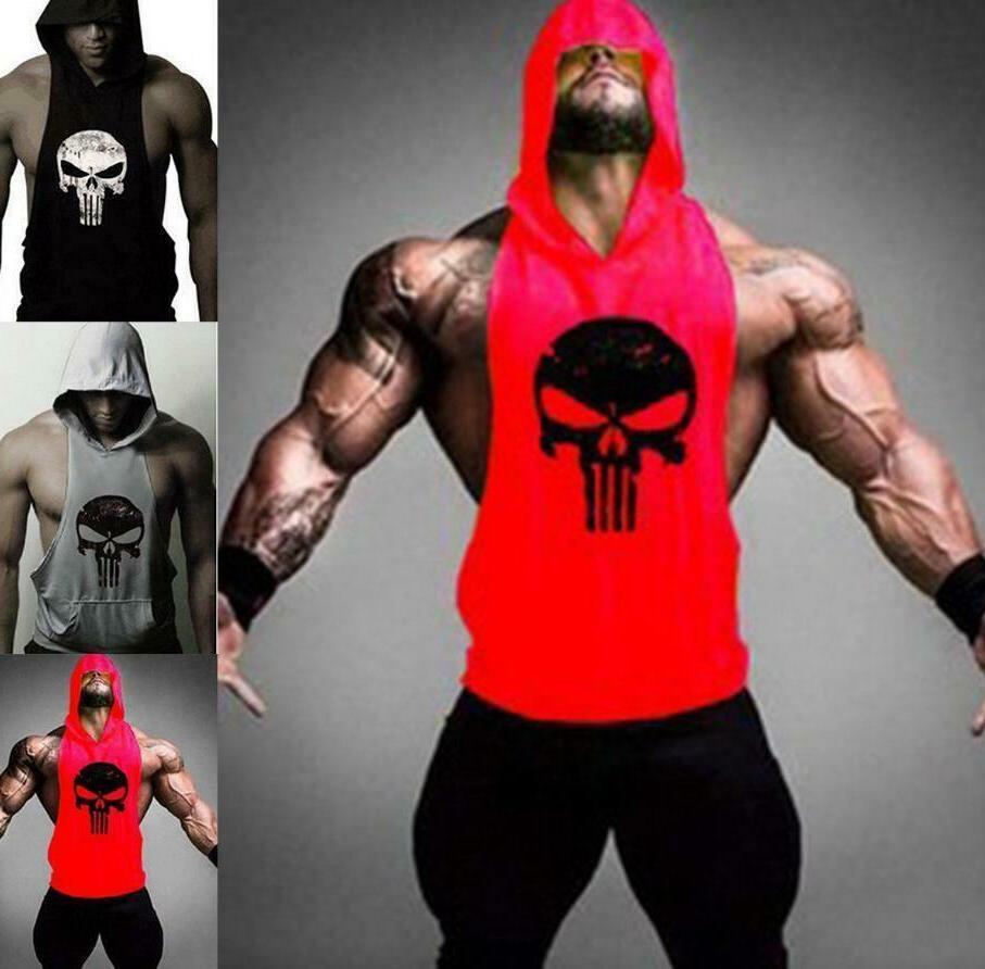 new men s gym clothing stringer hoodie