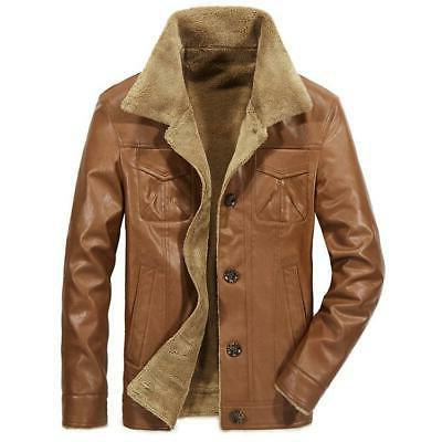New Men's Leather PU Clothing F