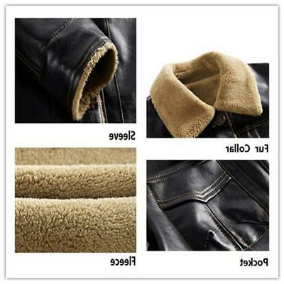 New Jacket PU Coats Clothing Winter F
