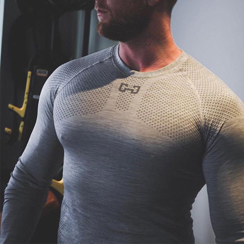New Men's Fit Long Workout Gym Clothes Gym