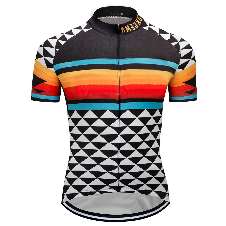 new mens bike team road jerseys cycling
