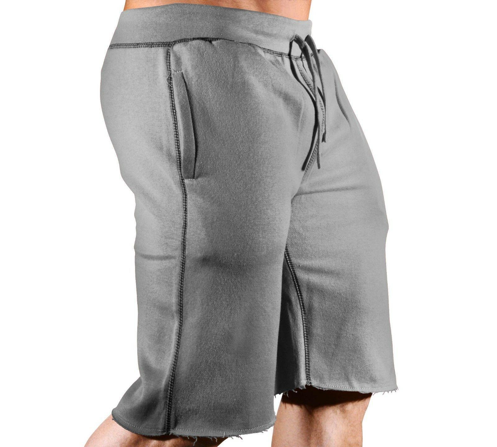 New Mens Fitness Sweatshorts Classic