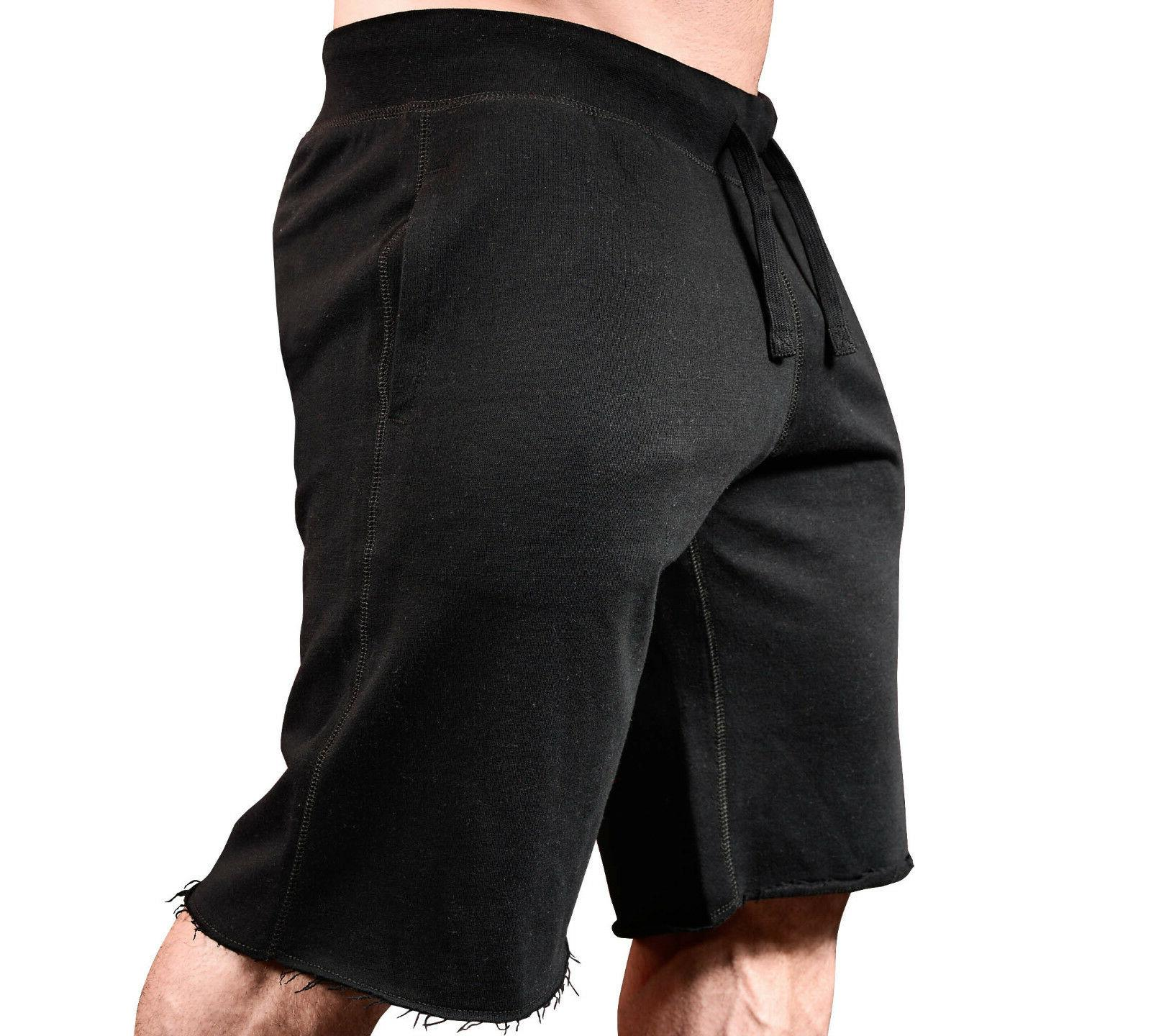new mens monsta clothing fitness gym sweatshorts