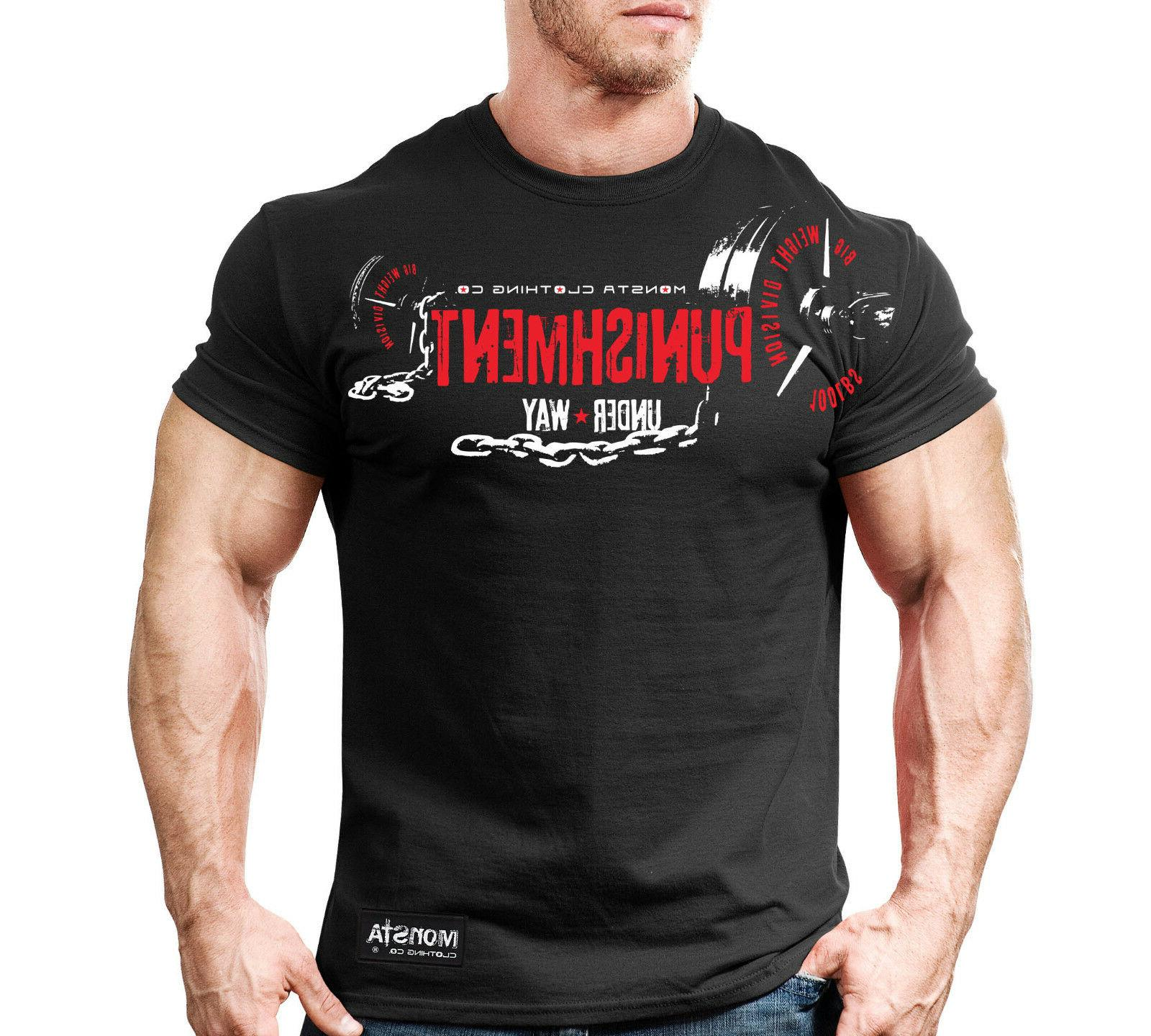 new mens monsta clothing fitness gym workout