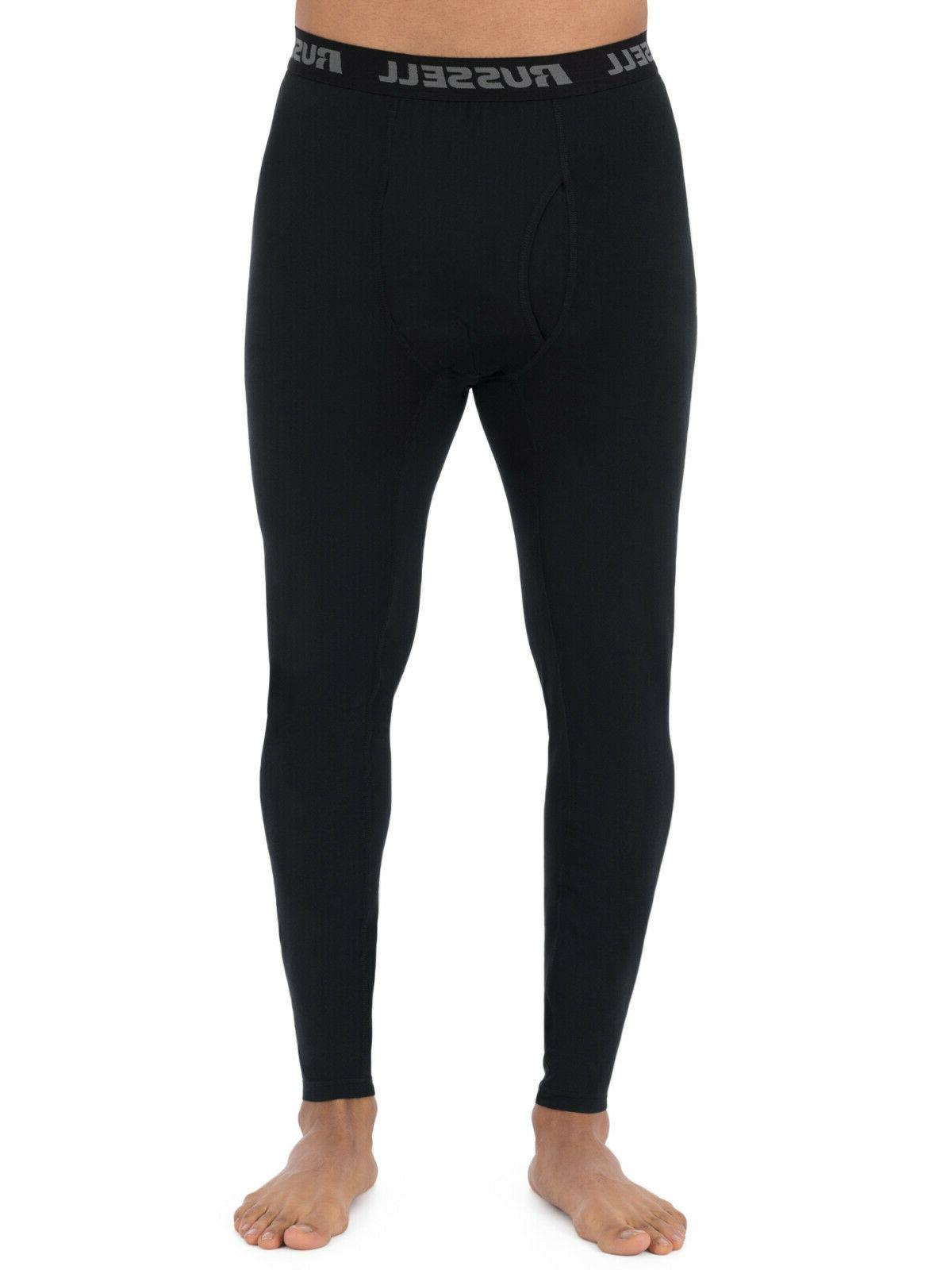 new mens russell l2 black base layer