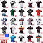 New Mens Sports Cycling Apparel Jerseys Bike Short Sleeve To