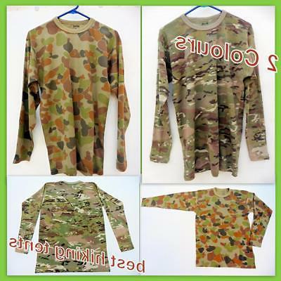 New Military Army Long Sleeve T-Shirt Men Women Bdu Tactical