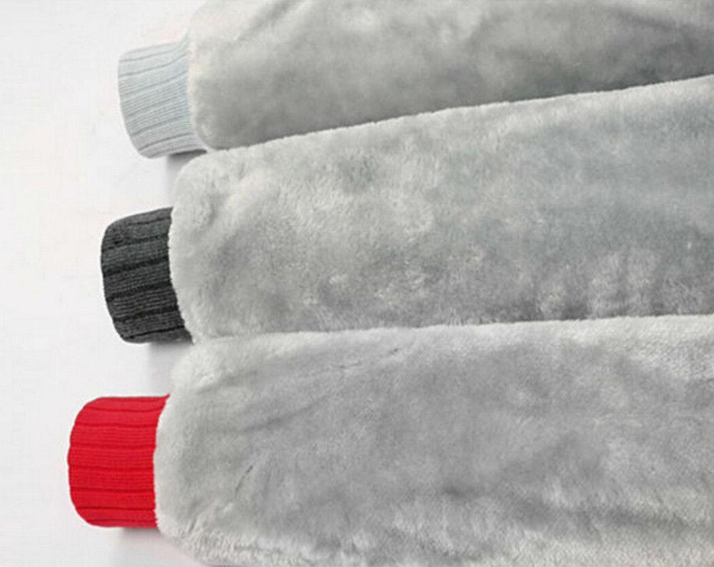 New Mens thicken fleece Santa coat Zipper