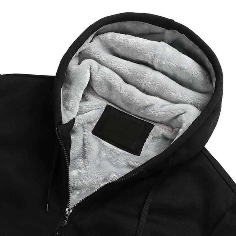 New Novelty Mens thicken fleece Santa Cruz coat Jacket Sweatshirt