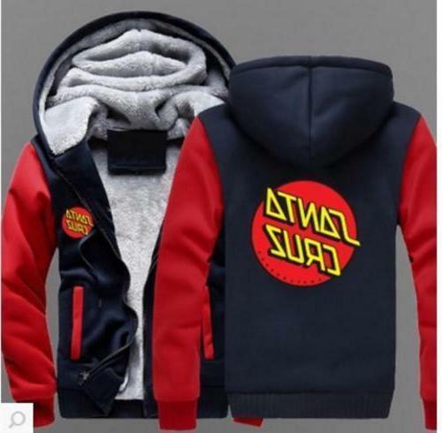 New Novelty hoodie thicken fleece coat Jacket
