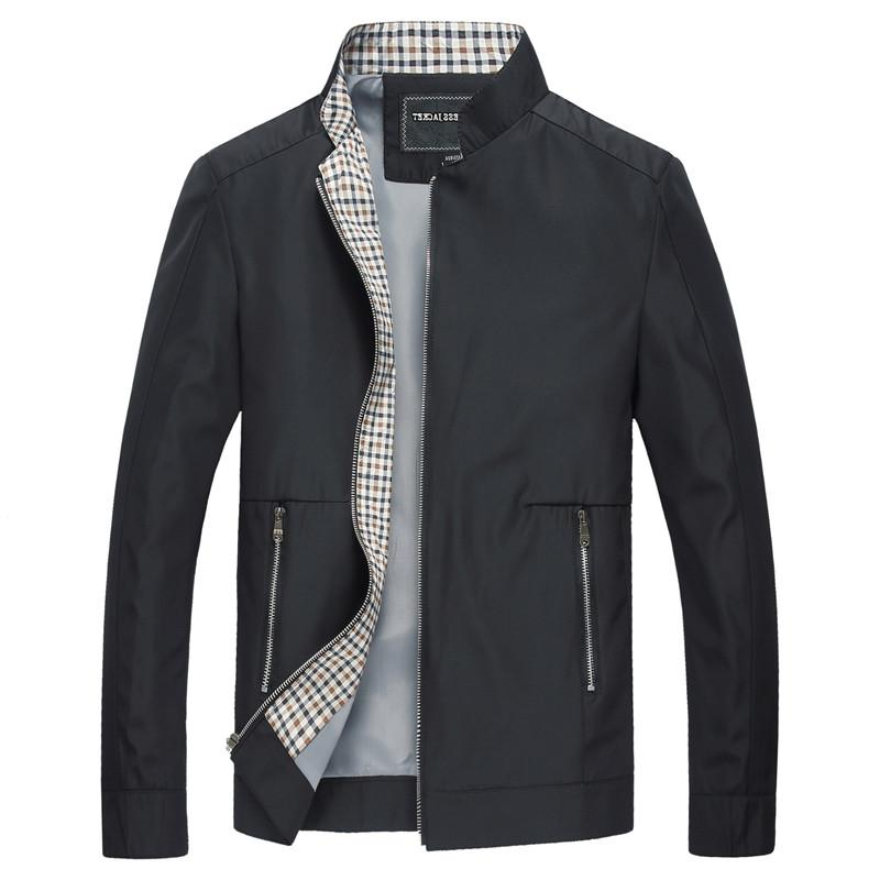 Mountainskin New Spring <font><b>Men's</b></font> Casual Solid Color <font><b>Clothing</b></font> Stand Collar Male Bomber