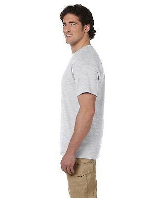 NEW Fruit Of The Loom T-Shirt Men's Short Heavy Cotton
