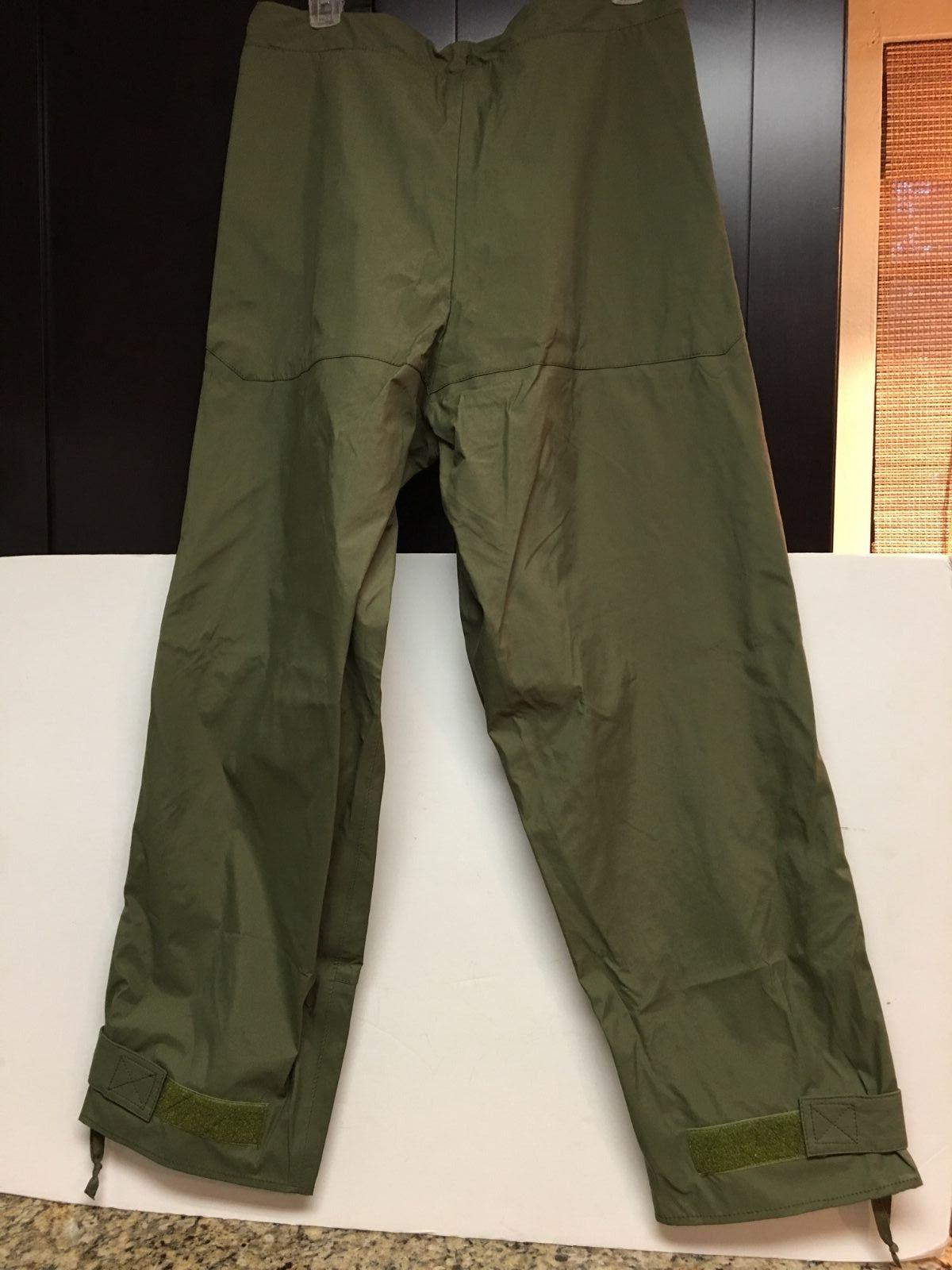 ECW Weatherproof Pants OD Green Small