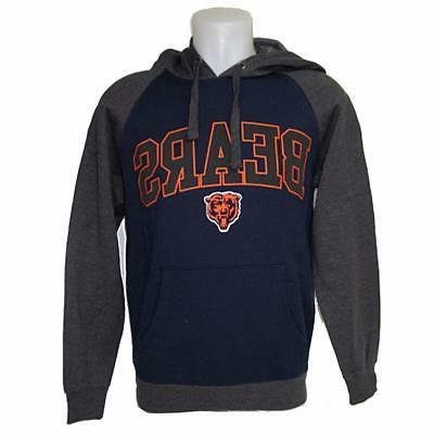 NFL Men's Chicago Bears Hoody Sweatshirt Small-3X Football T