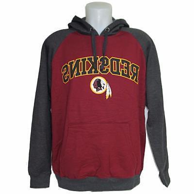 NFL Men's Washington Redskins Hoody Sweatshirt Large-3X Foot