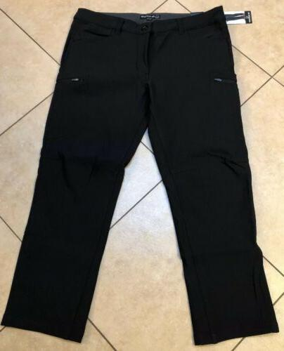 NWT BC Clothing Expedition Men's Soft Shell Pants Black 36 x