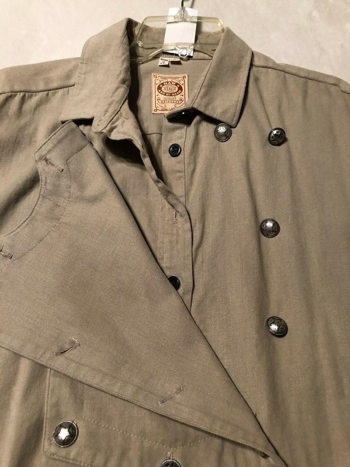 NWT Wah Frontier Clothing Shirt Size Large