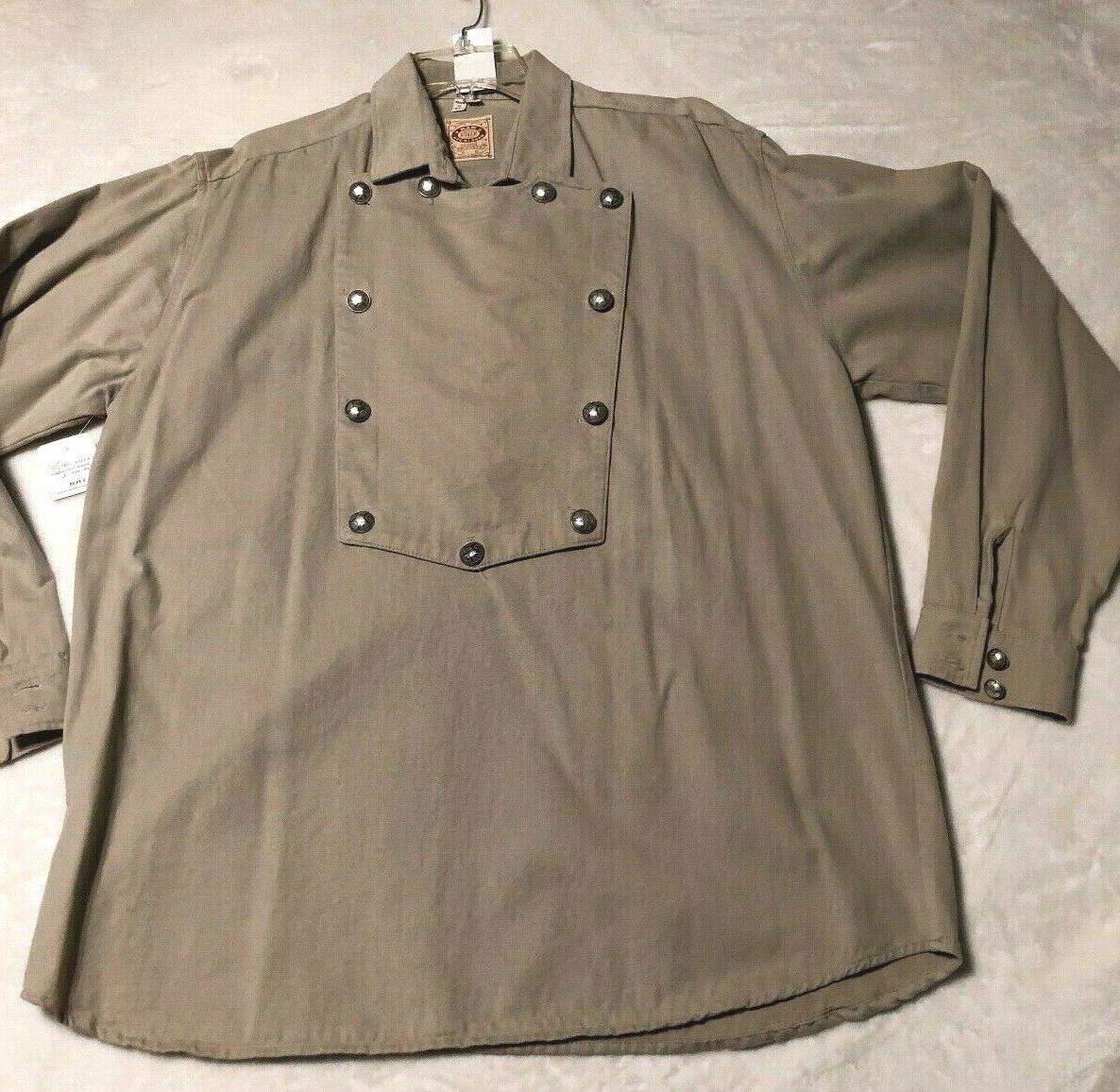 nwt frontier clothing shirt men s size