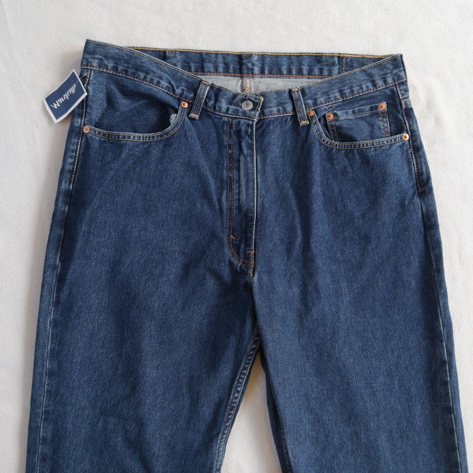 NWT Men's 514 Straight Dark Jeans 38x29