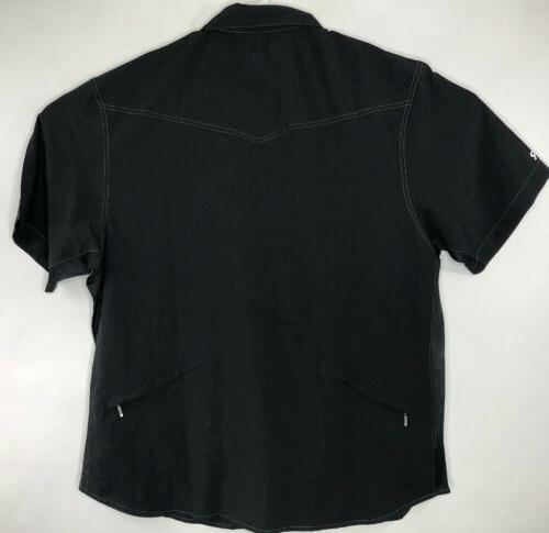 NWT X-Large Go Button Front Cycling Black A7