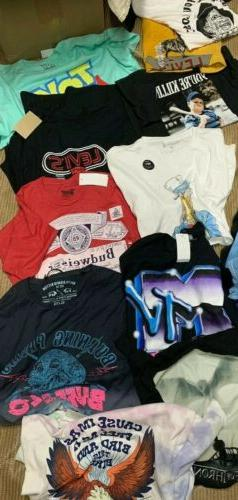 NWT Mens Lot Graphic T Lot 3-5 $100