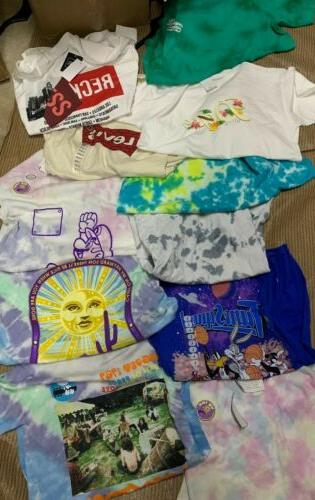 NWT Mens Clothing Lot Graphic Lot 3-5 $100