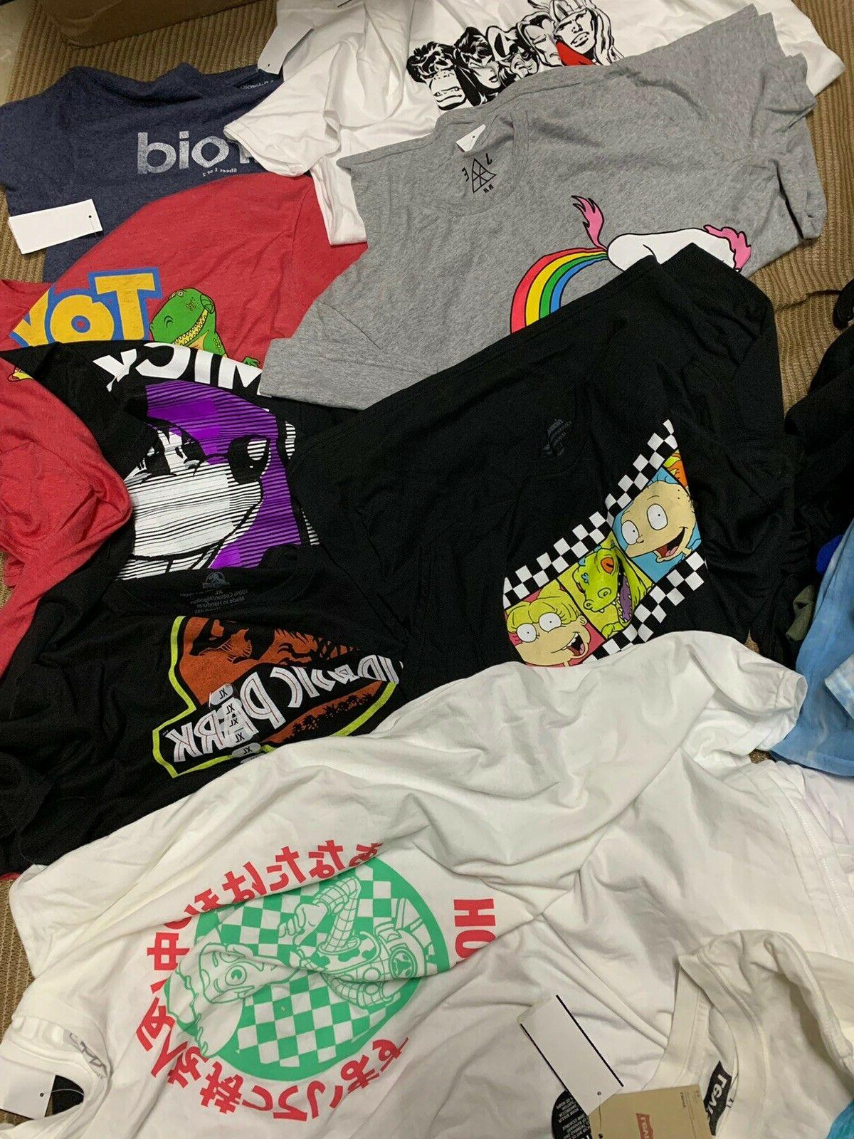 nwt mens clothing lot graphic branded t