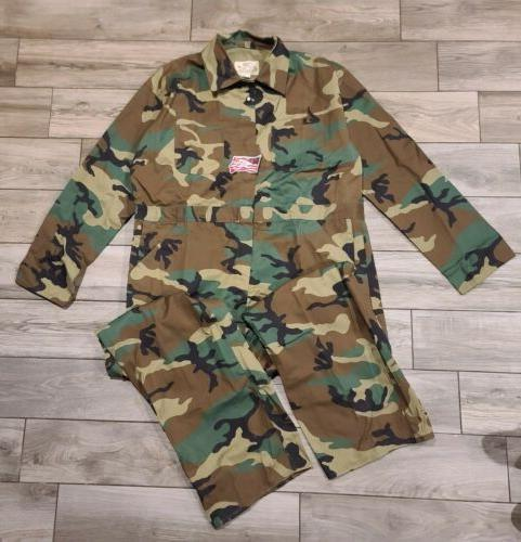 nwt rugged outdoor apparel camo coveralls suit
